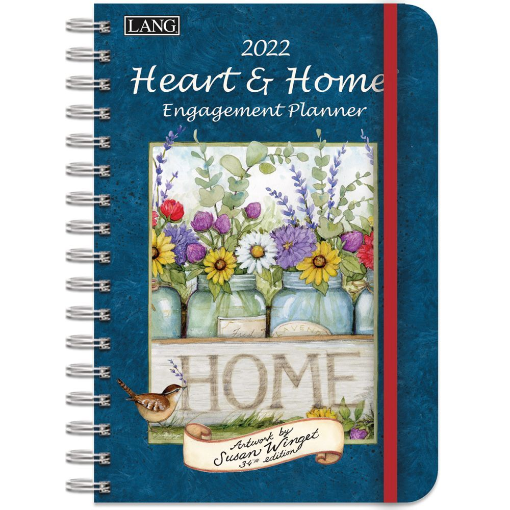 Heart and Home 2022 Spiral Engagement Planner