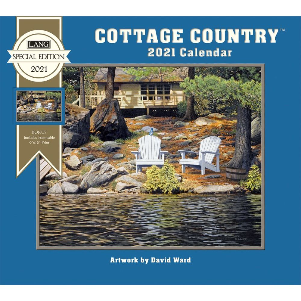 2021 Cottage Country Special Edition Wall Calendar