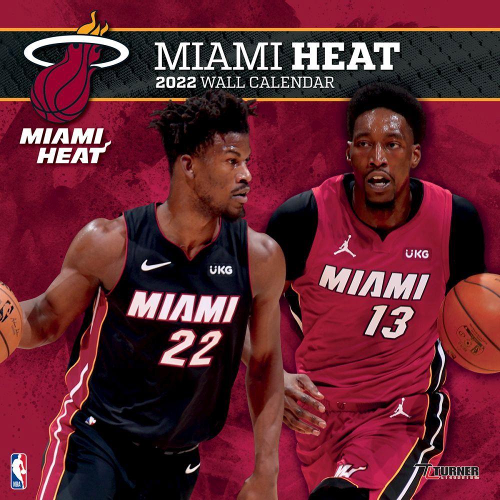 Miami Heat 2022 Wall Calendar