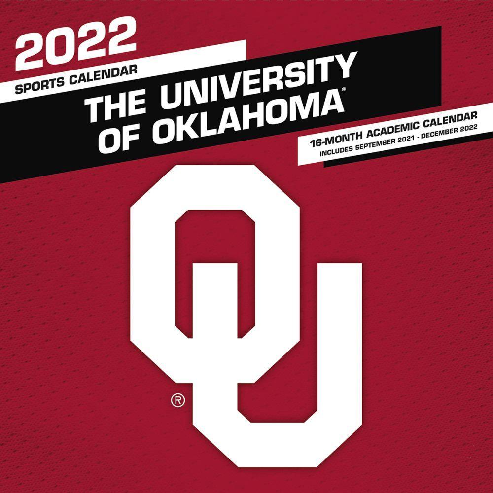University of Oklahoma Sooner 2022 Wall Calendar