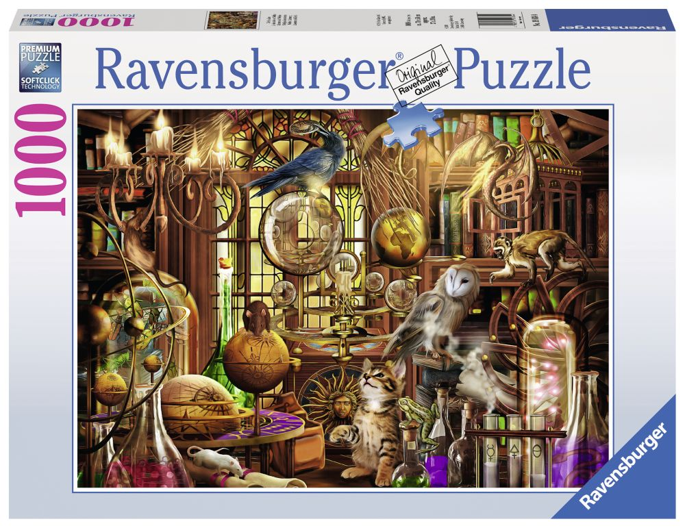 Best Merlins Laboratory 1000pc Puzzle You Can Buy