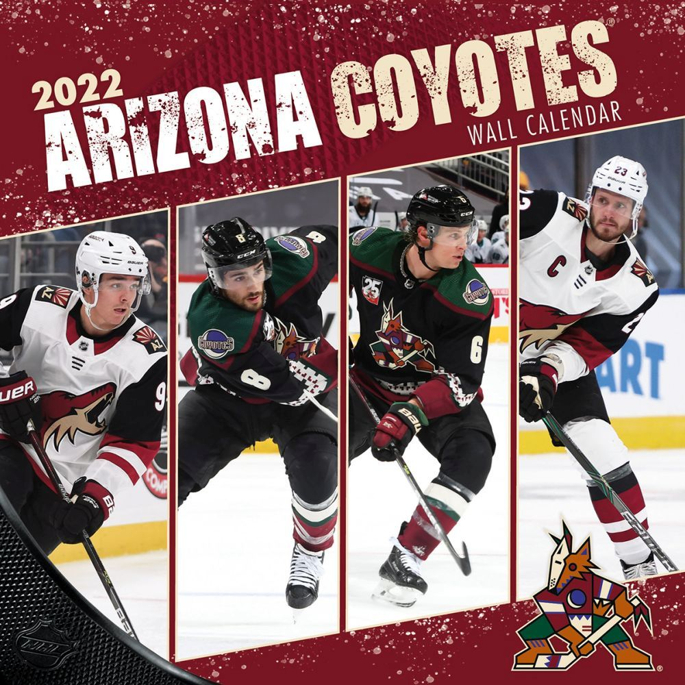 Arizona Coyotes 2022 Wall Calendar