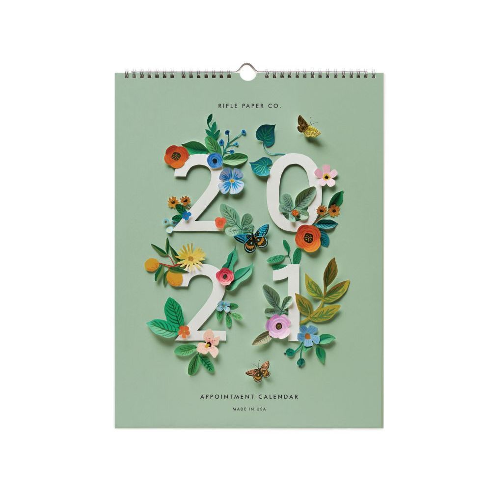 2021 Cut Paper Appointment Wall Calendar