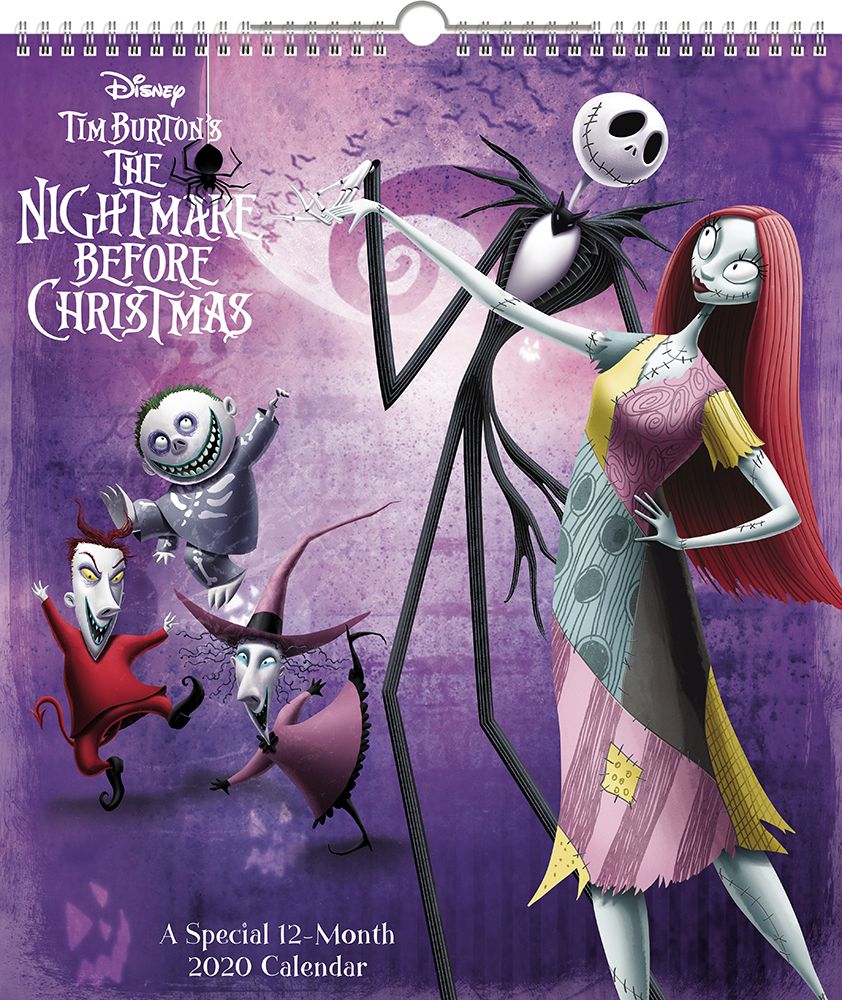 Nightmare Before Special Edition Wall Calendar