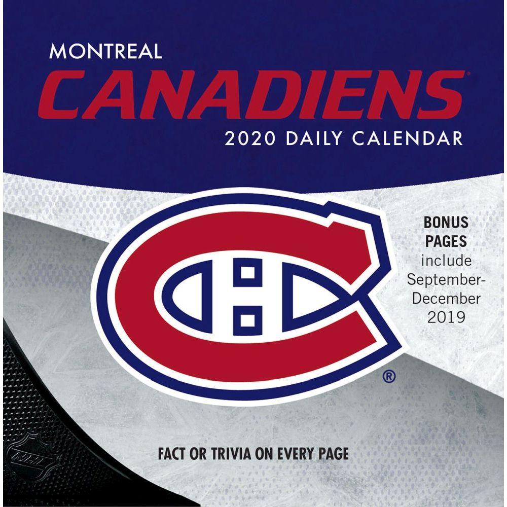 Montreal Canadiens 2021 Desk Calendar