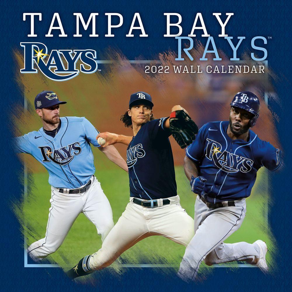 Tampa Bay Rays 2022 Wall Calendar