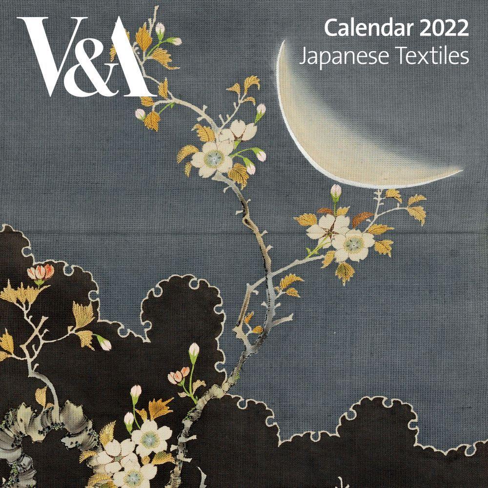 V & A Japanese Textiles 2022 Wall Calendar