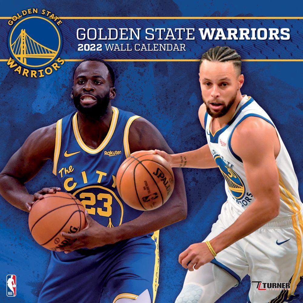 Golden State Warriors 2022 Wall Calendar
