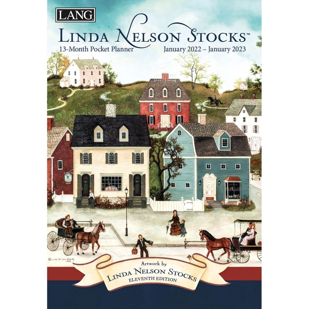 Linda Nelson Stocks 2022 Monthly Pocket Planner