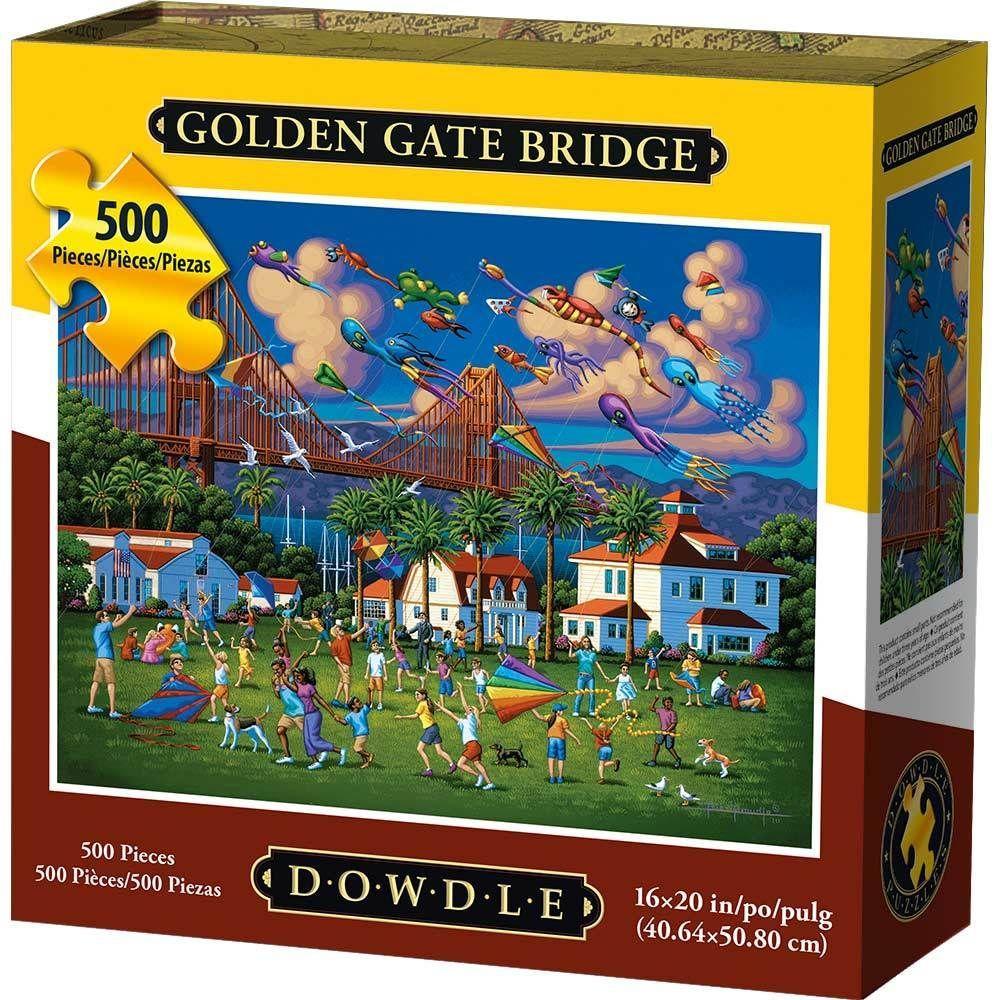 Best Golden Gate Bridge 500pc Puzzle You Can Buy
