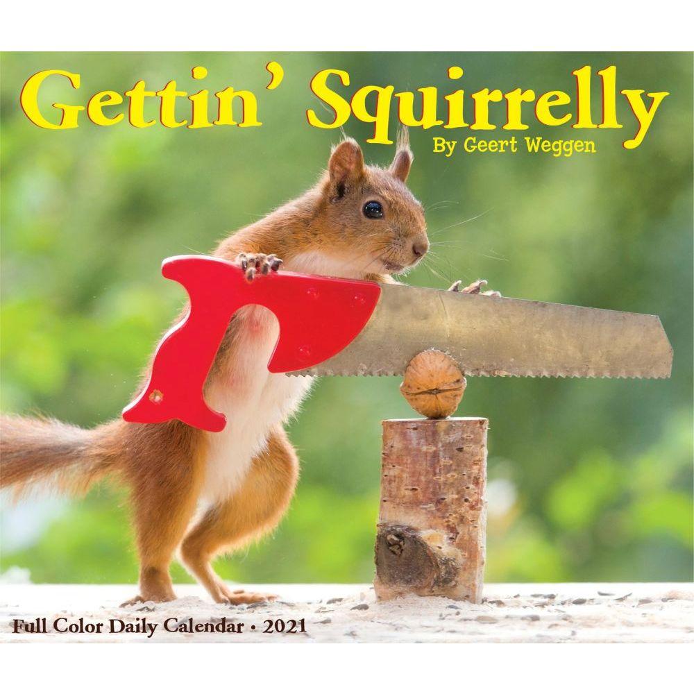 2021 Getting Squirrelly Desk Calendar