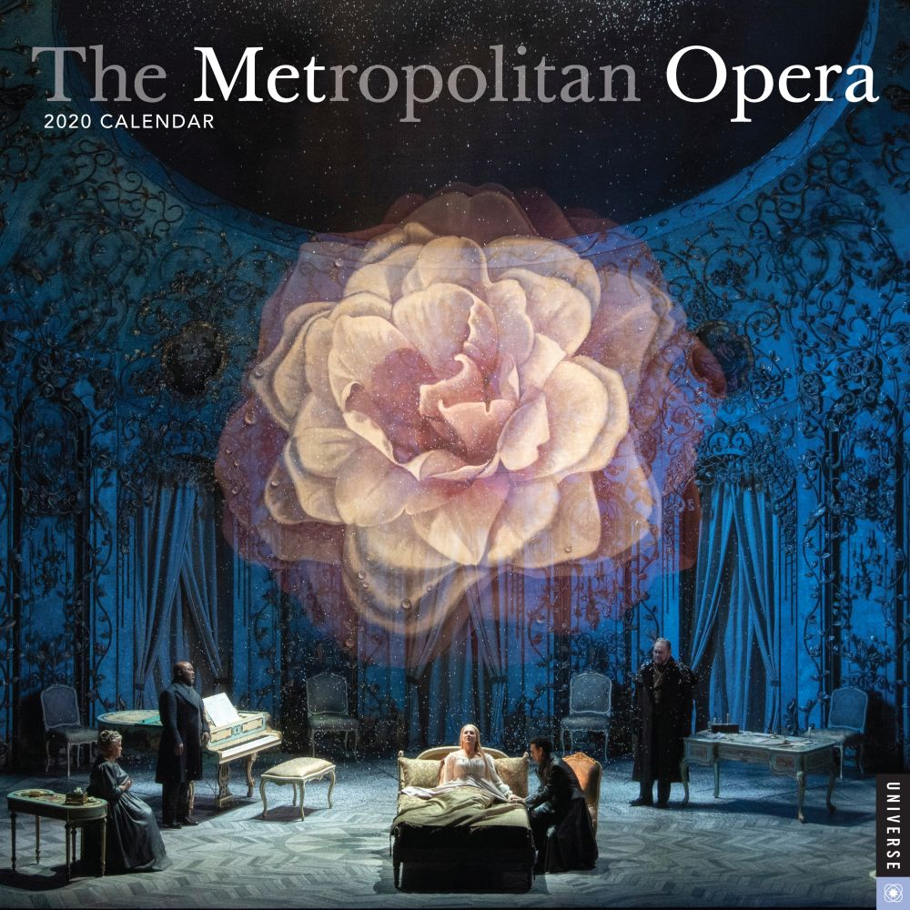 The Metropolitan Opera 2021 Wall Calendar
