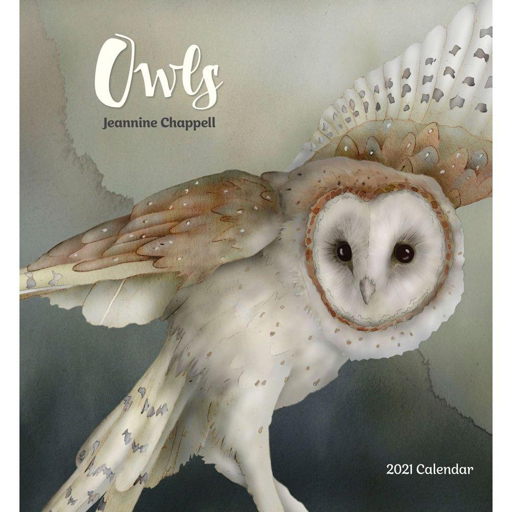 2021 Chappell Owls Wall Calendar
