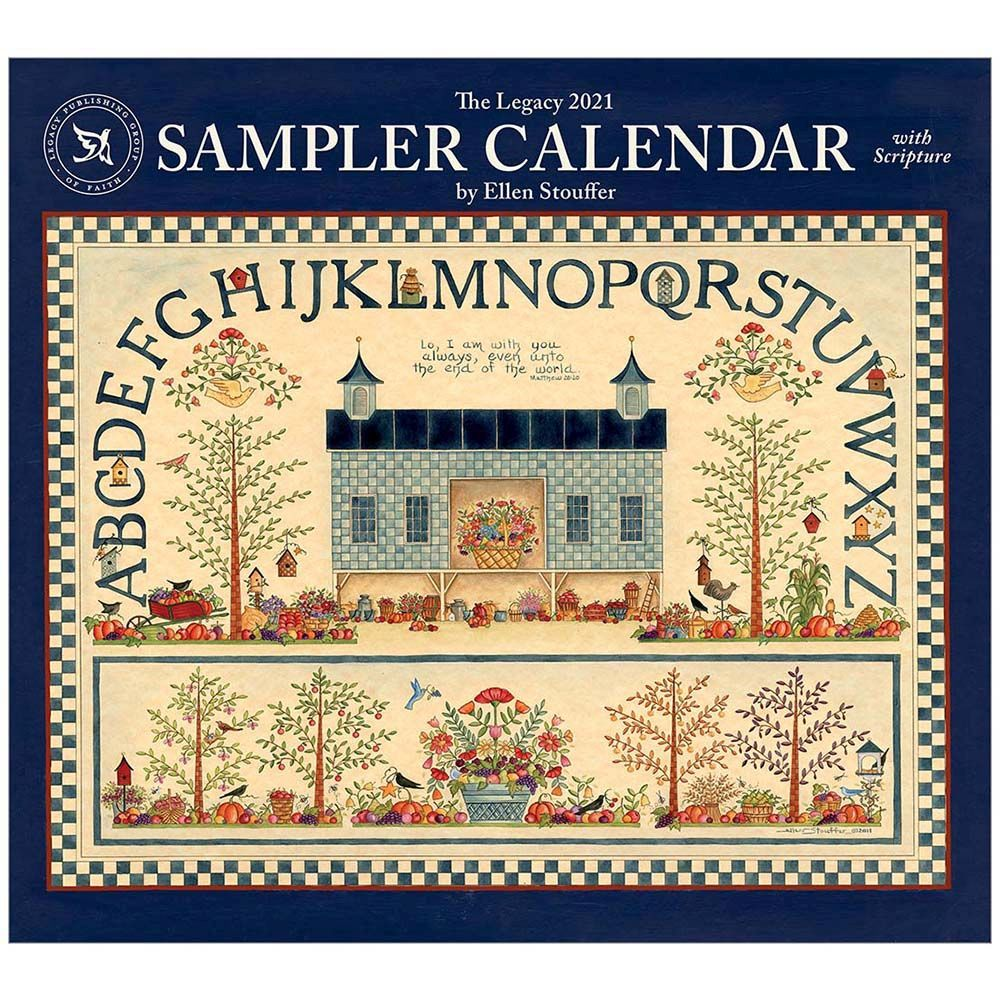 2021 Sampler Stouffer Wall Calendar