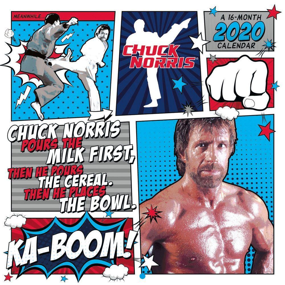 Chuck Norris 2021 Wall Calendar