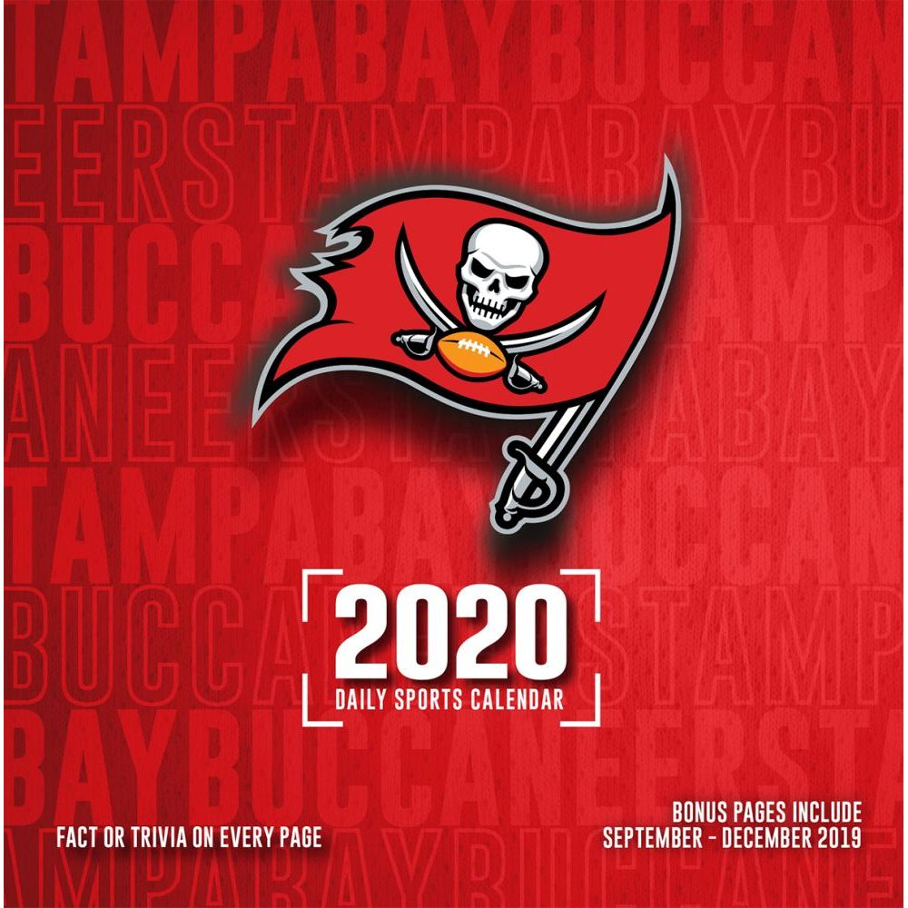 Tampa Bay Buccaneers 2021 Desk Calendar