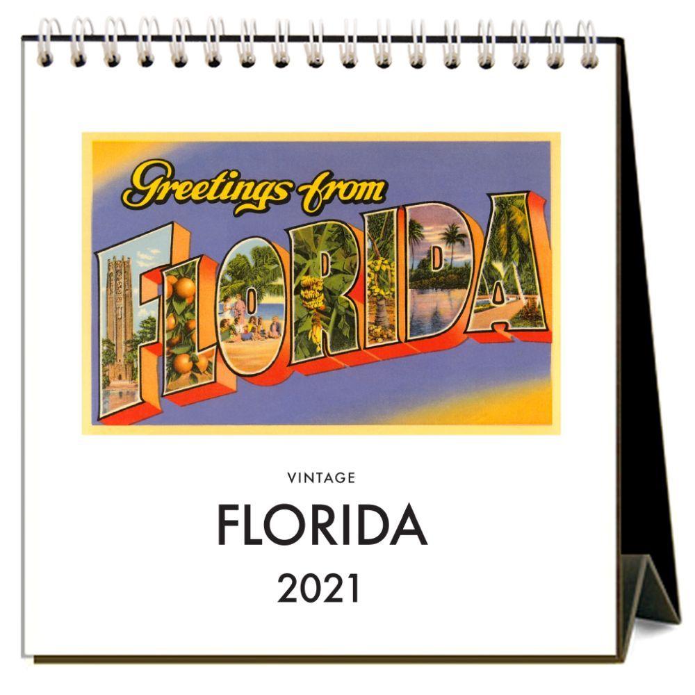 2021 Florida Easel Calendar