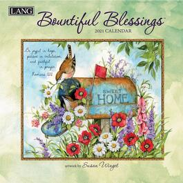 Bountiful Blessings Mini Wall Calendar