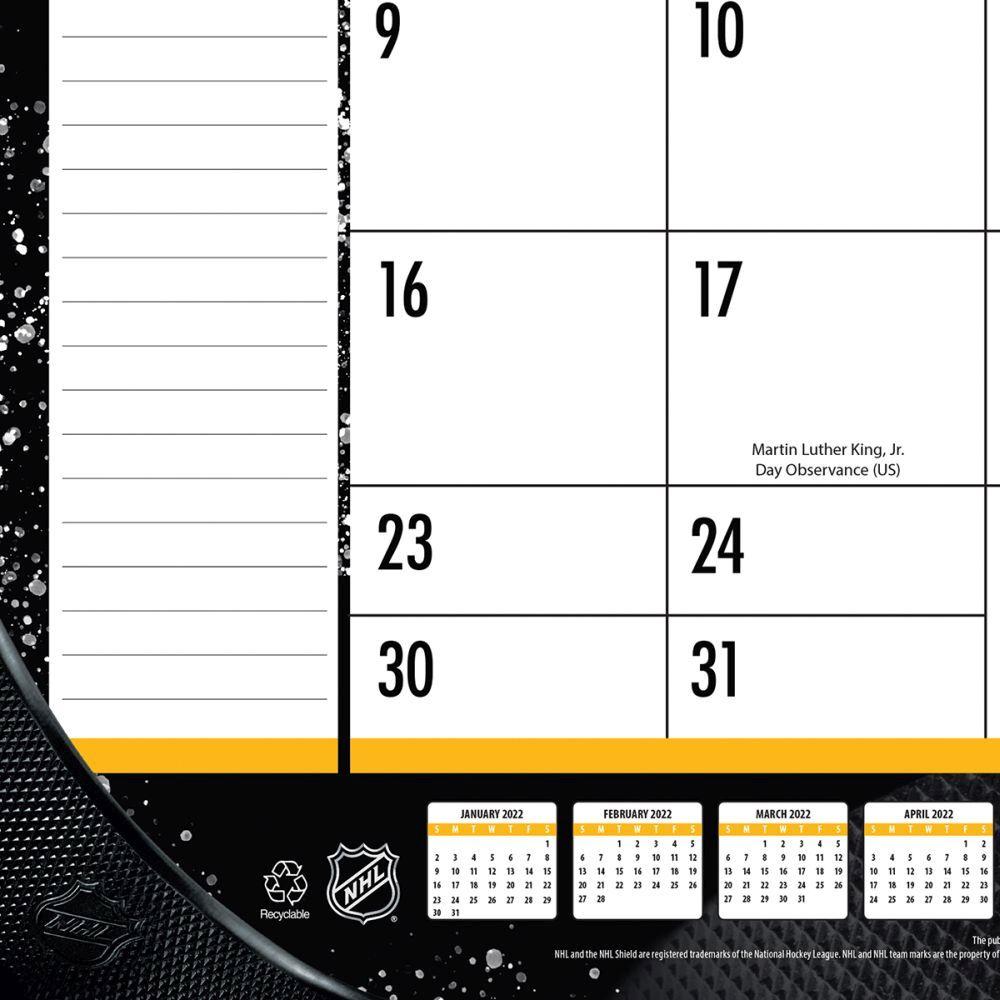 Boston Bruins 2022 Desk Pad