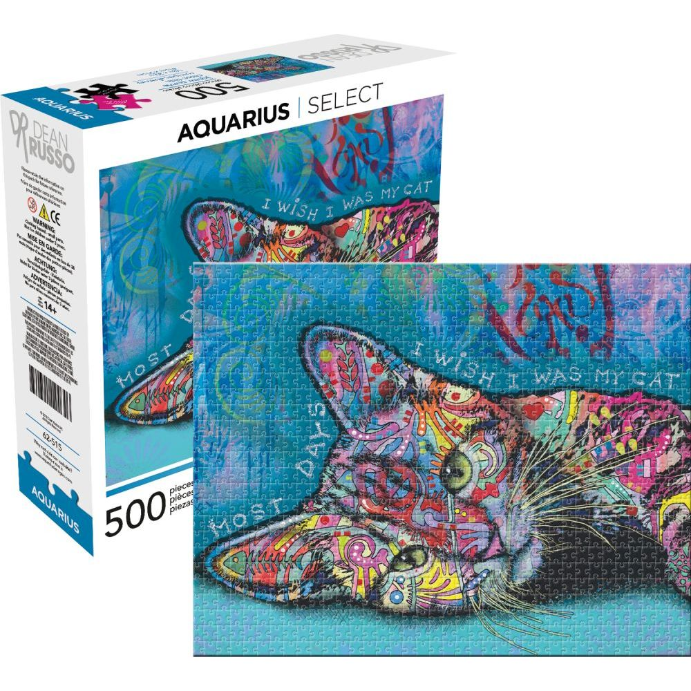 Best Dean Russo Cat II 500pc Puzzle You Can Buy