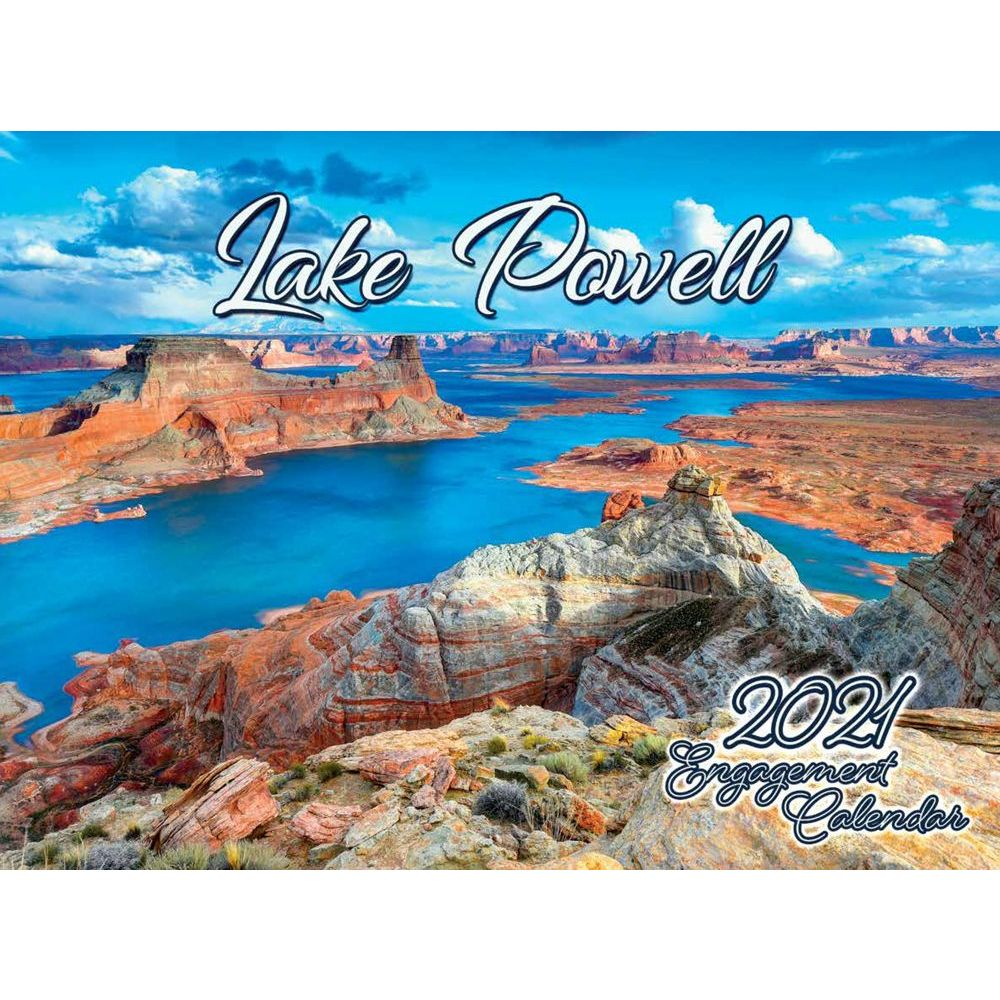 Lake Powell 2021 Wall Calendar