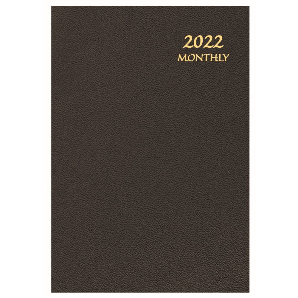 Skivertex 2022 Monthly Appointment Planner (Black)