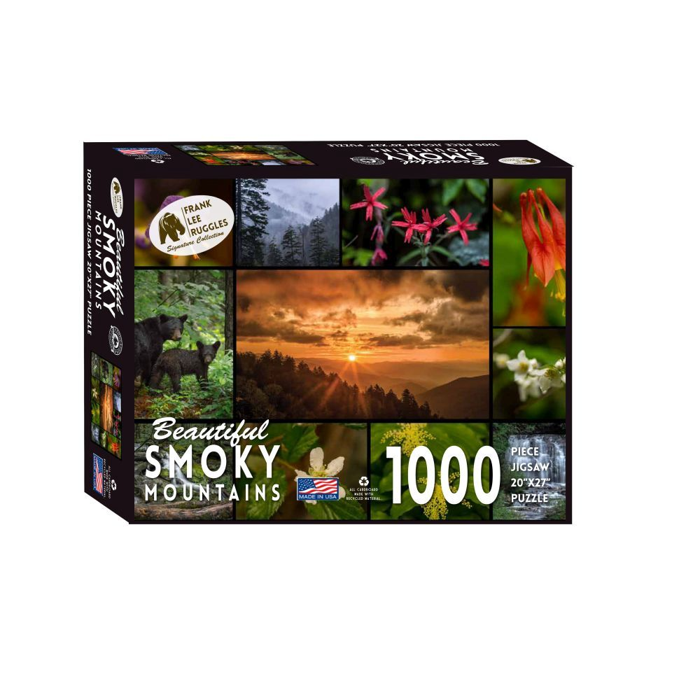 Best Smoky Mountain  Ruggles 1000pc Puzzle You Can Buy