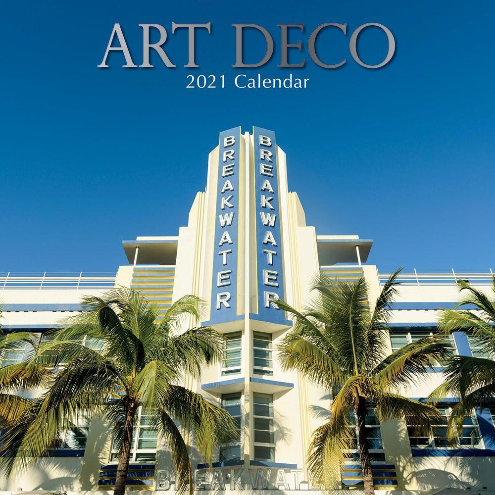 2021 Art Deco Wall Calendar