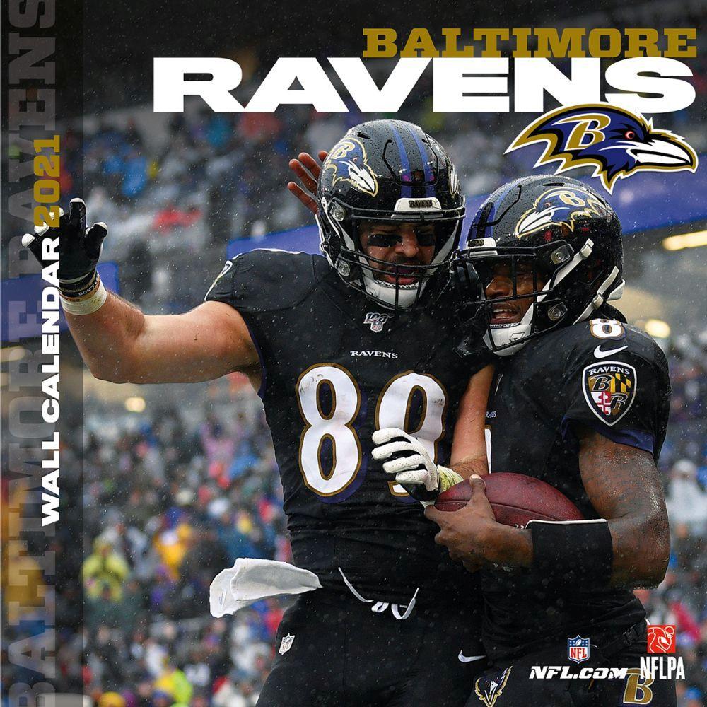 Baltimore Ravens 2021 Wall Calendar