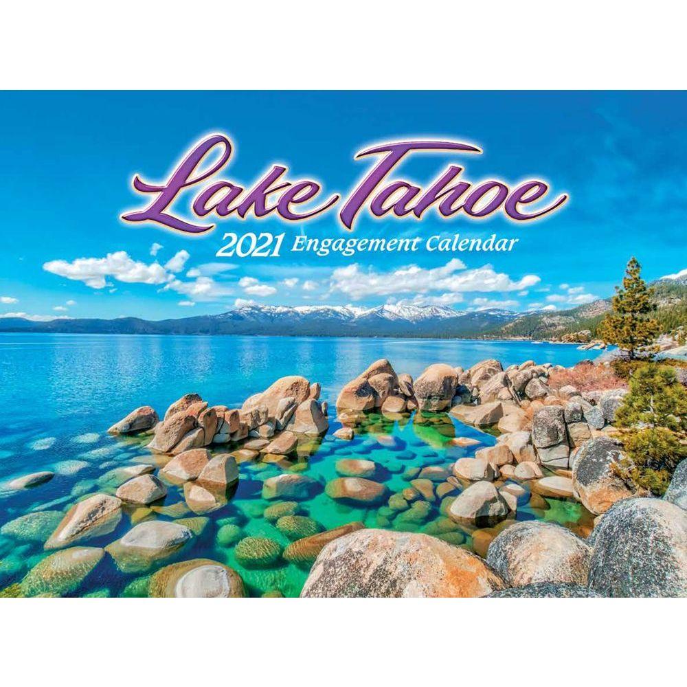 Lake Tahoe 2021 Wall Calendar