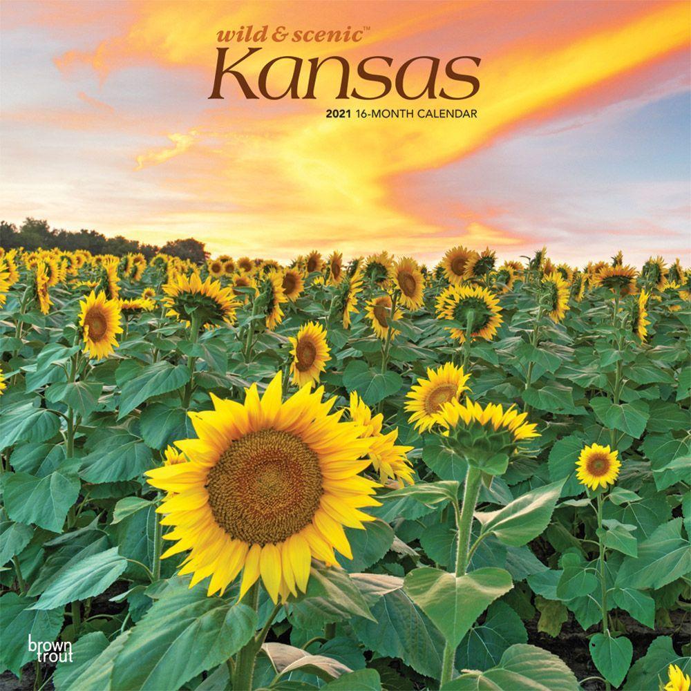 Kansas Wild and Scenic 2021 Wall Calendar