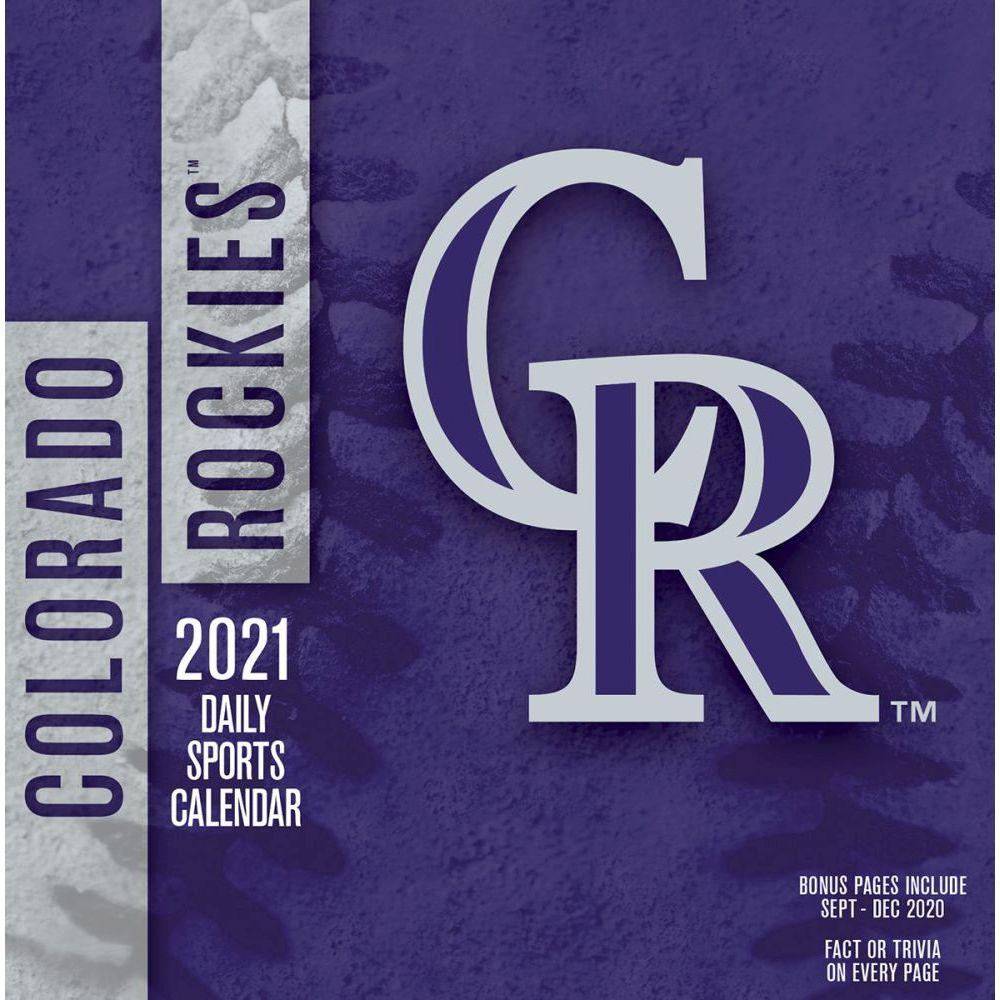 Colorado Rockies 2021 Desk Calendar
