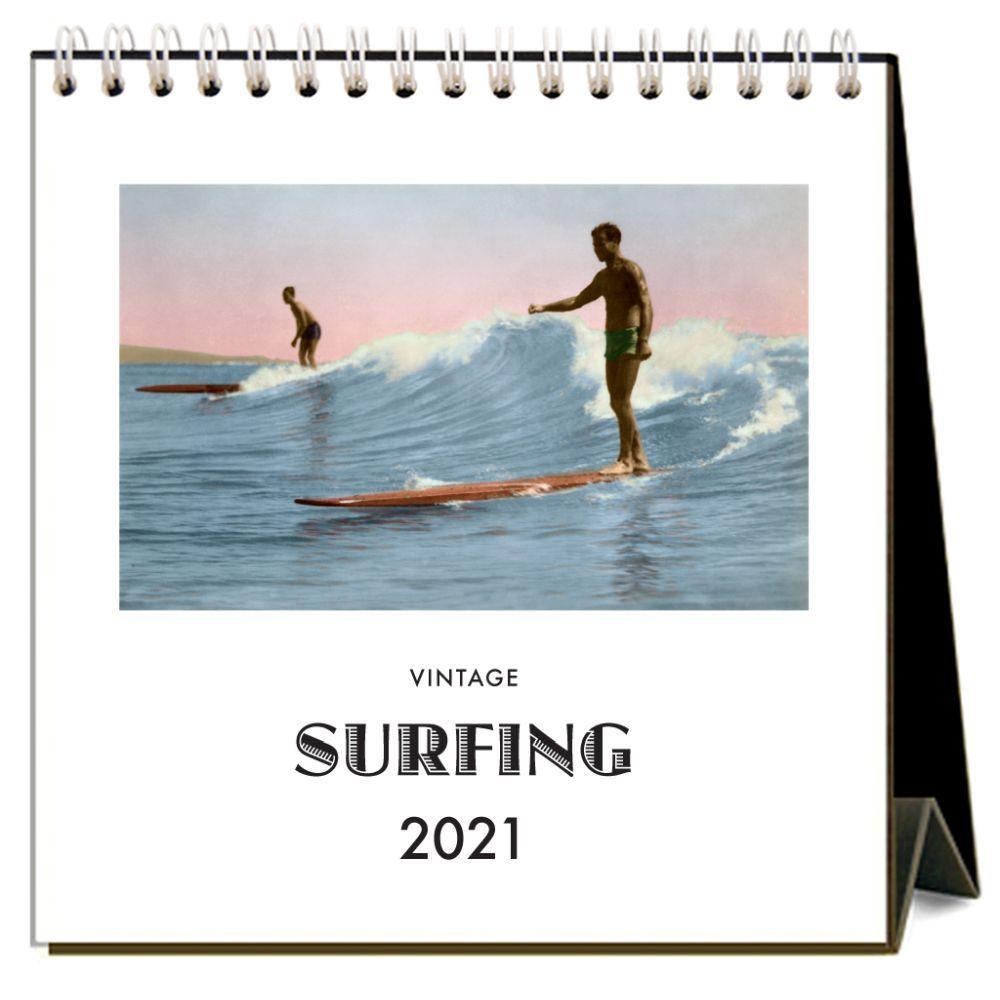 2021 Surfing Easel Calendar