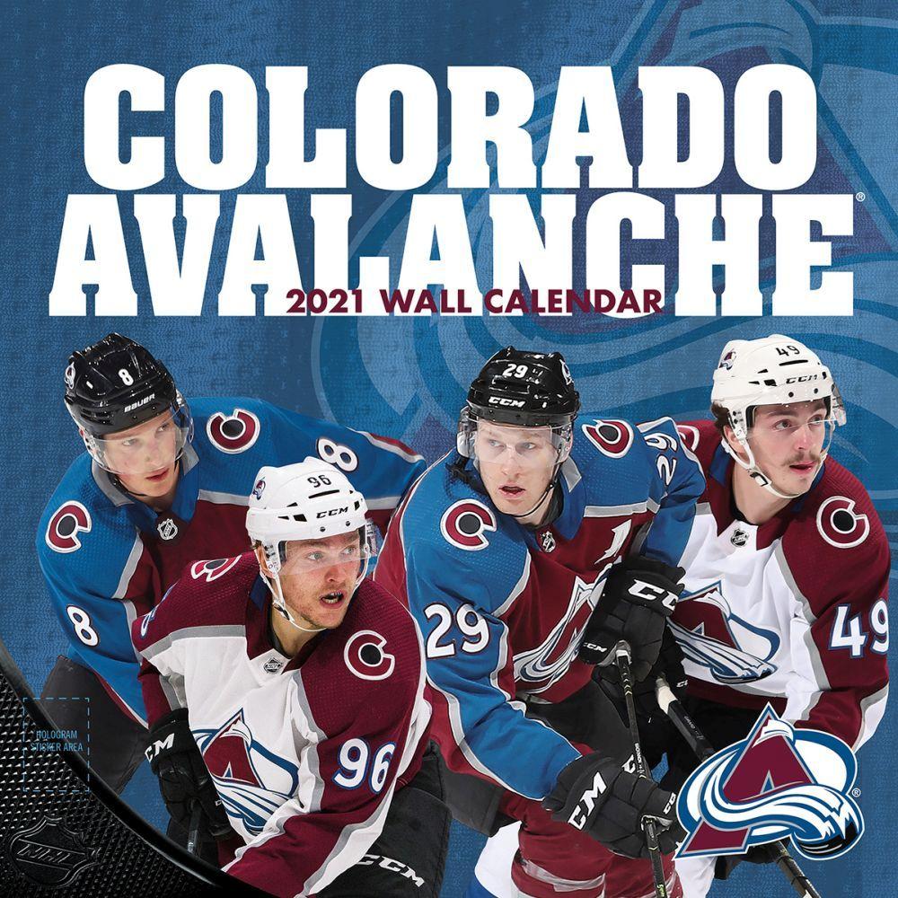 2021 Colorado Avalanche Wall Calendar