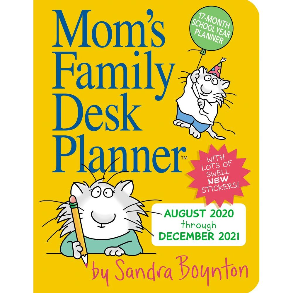 Mom's Family 2021 Weekly Planner
