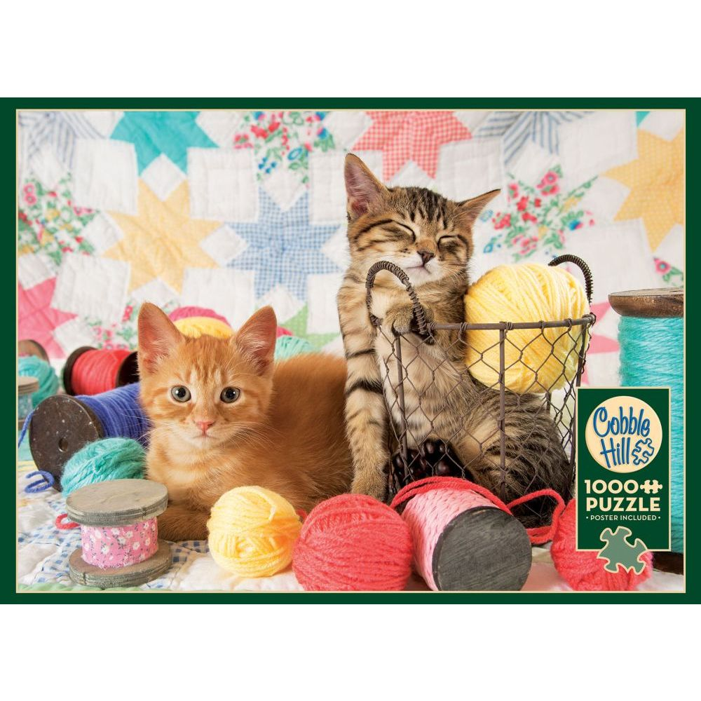 Best Balls of Fluff 1000pc Puzzle You Can Buy
