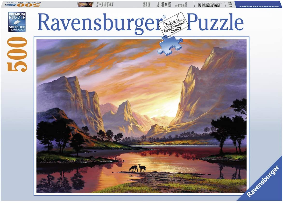 Best Tranquil Sunset 500pc Puzzle You Can Buy