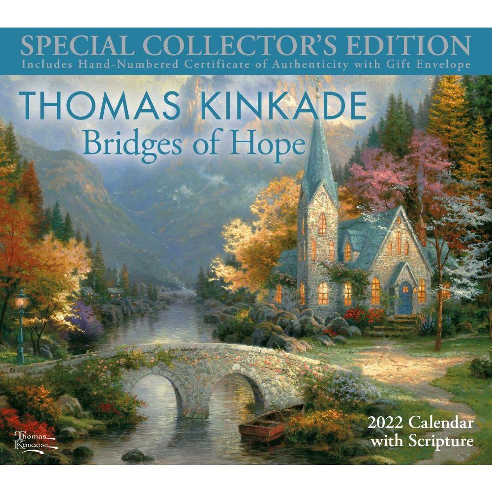 Thomas Kinkade Special Collector's Edition with Scripture 2022 Wall Calendar