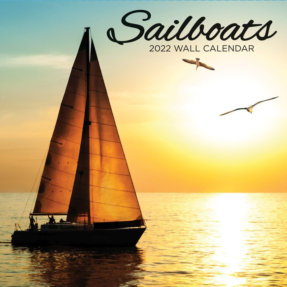 Sailboat 2022 Wall Calendar