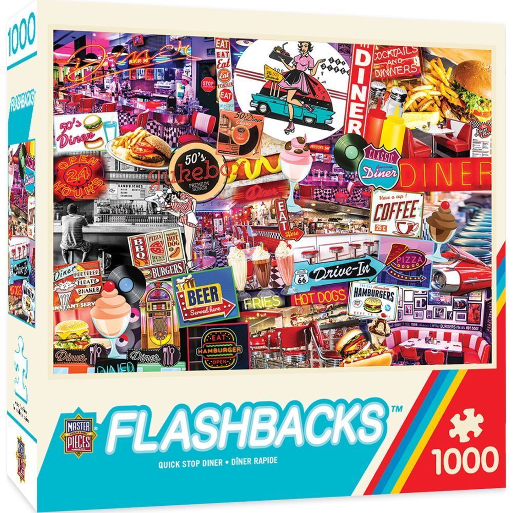 Best Quick Stop Diner 1000pc Puzzle You Can Buy