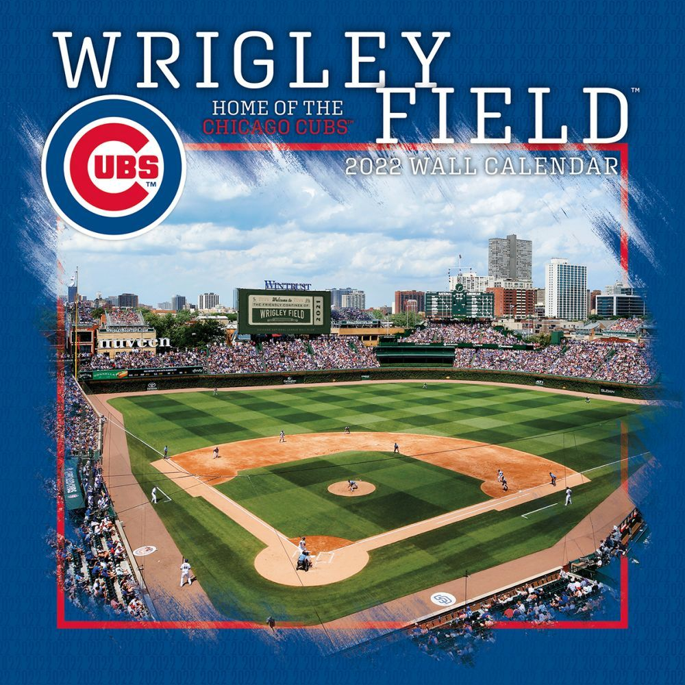 Wrigley Field Chicago 2022 Wall Calendar