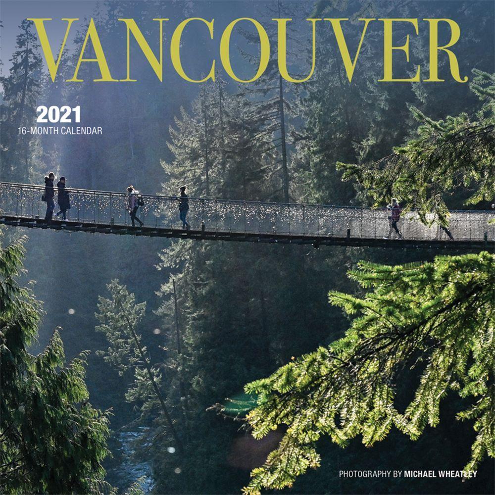 2021 Vancouver Mini Wall Calendar