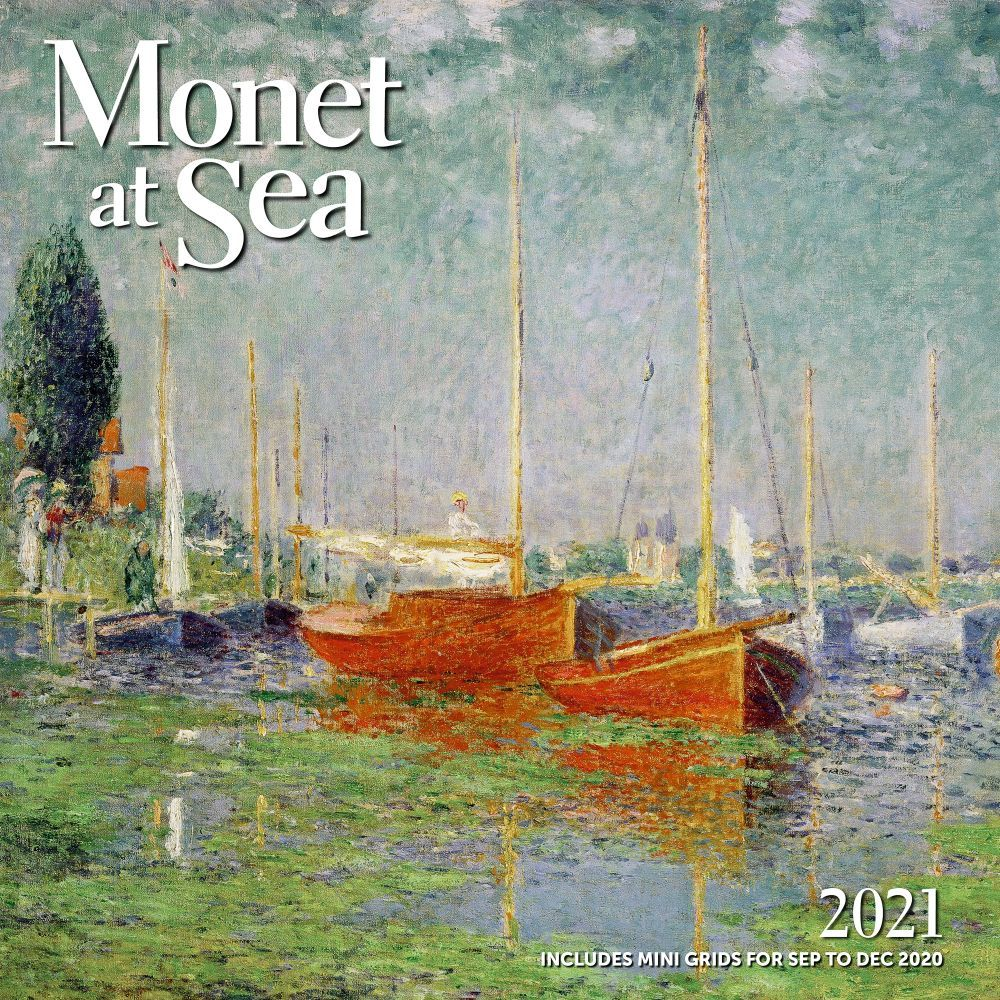 Monet at Sea 2021 Wall Calendar