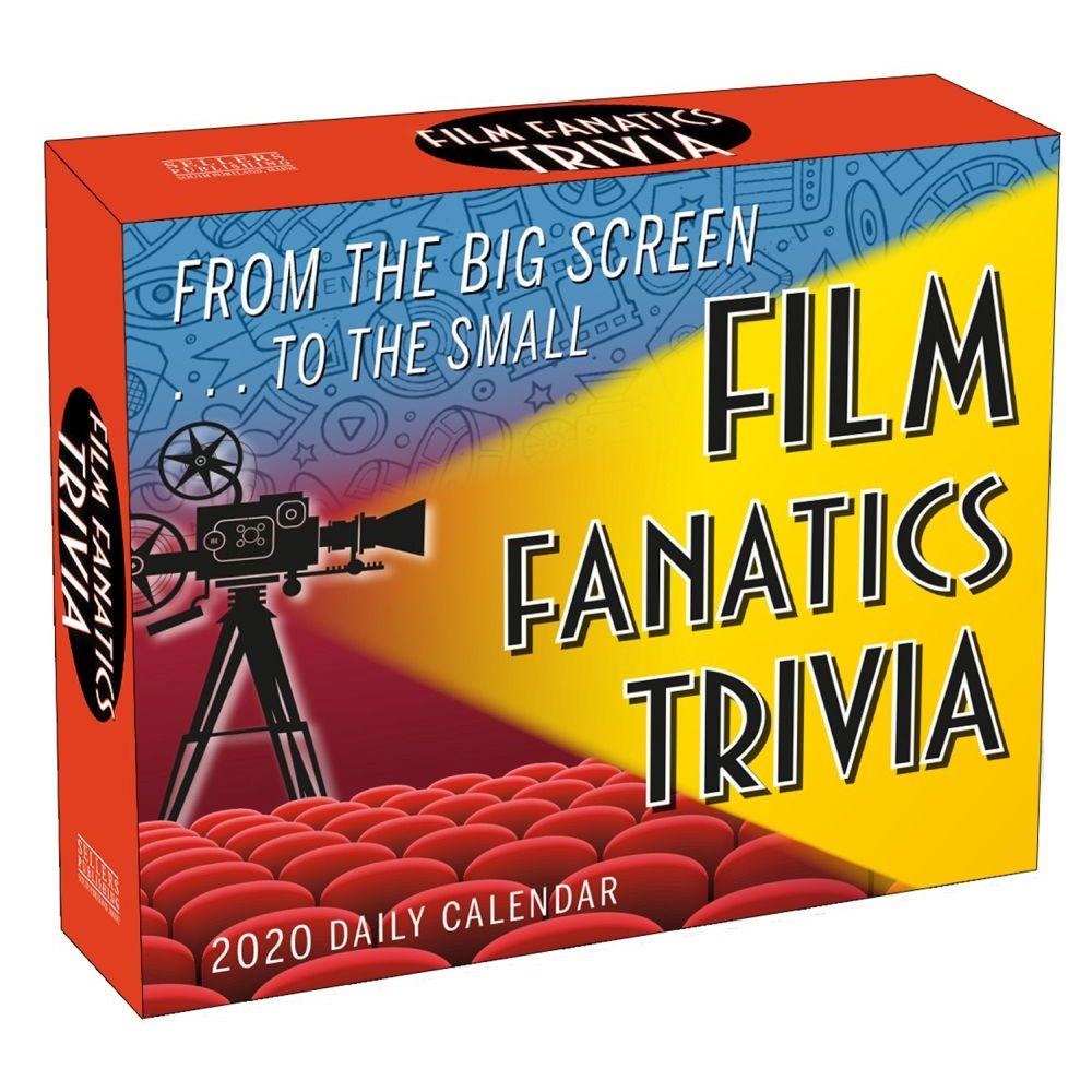 Film Fanatics Trivia 2021 Desk Calendar