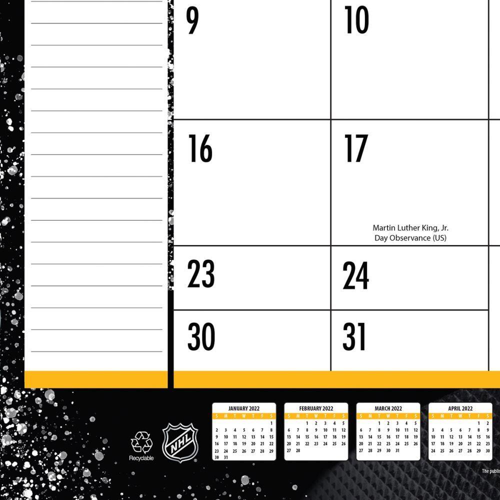 Pittsburgh Penguins 2022 Desk Pad