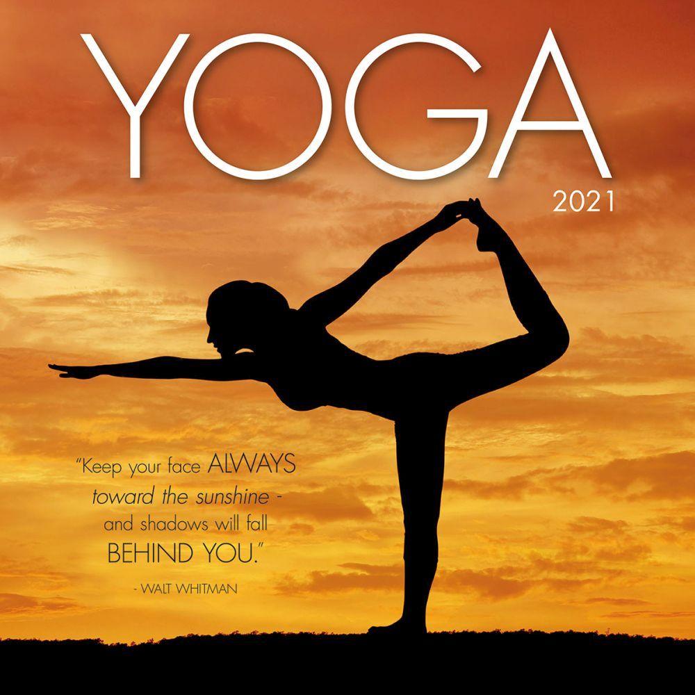 2021 Yoga Wall Calendar
