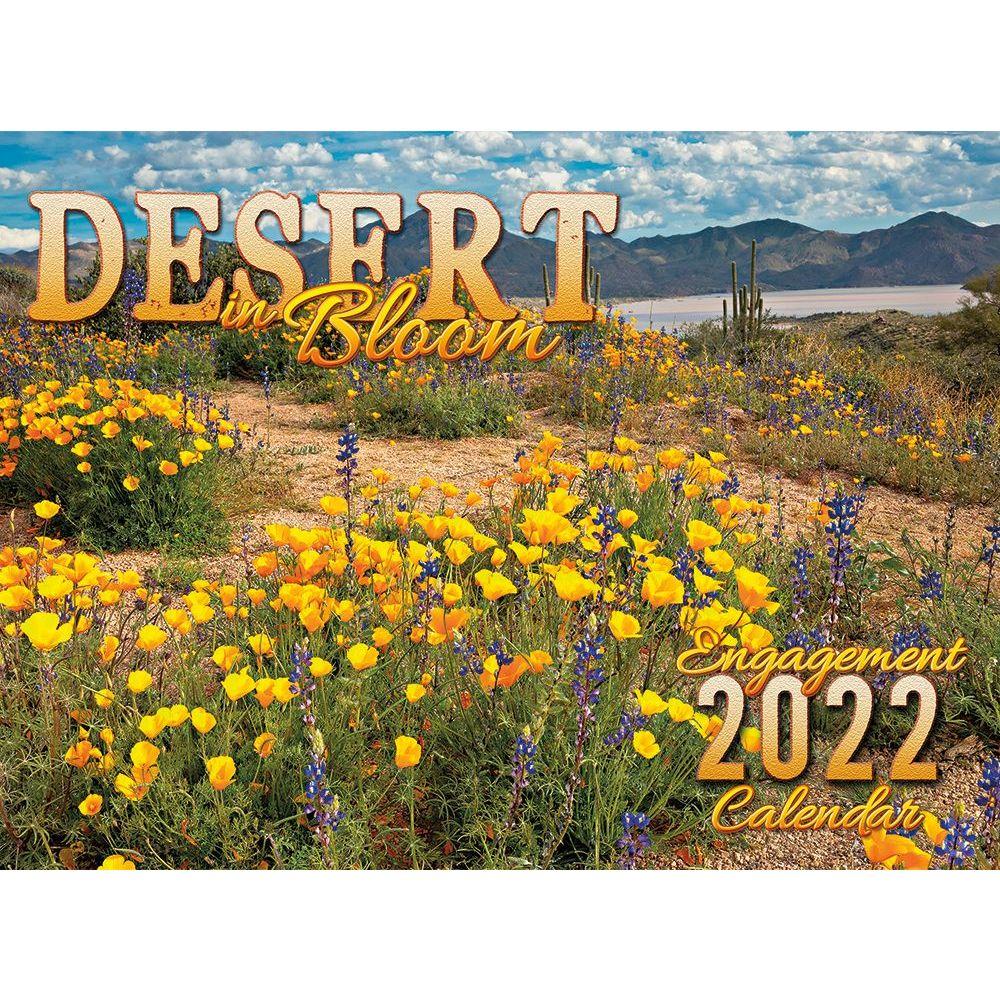 Desert in Bloom 2022 Wall Calendar