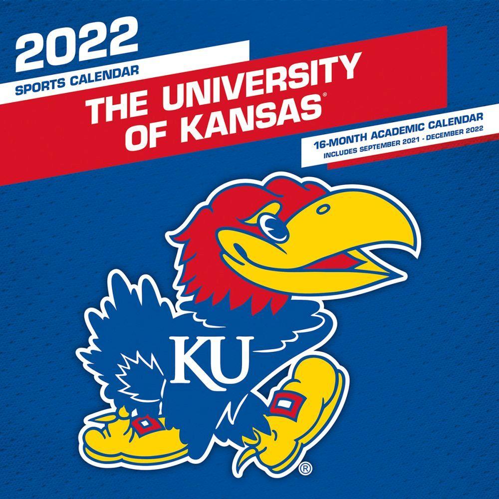 University of Kansas Jayhawks 2022 Wall Calendar