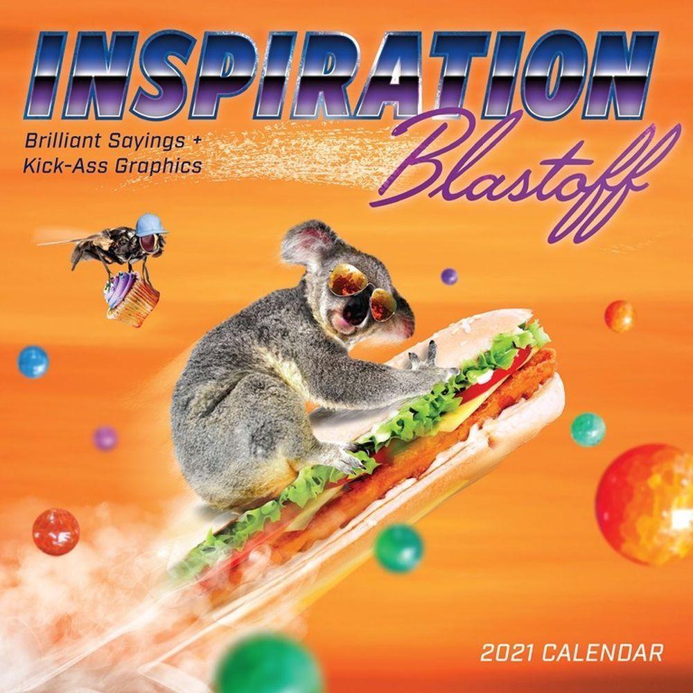 2021 Inspiration Blastoff Wall Calendar