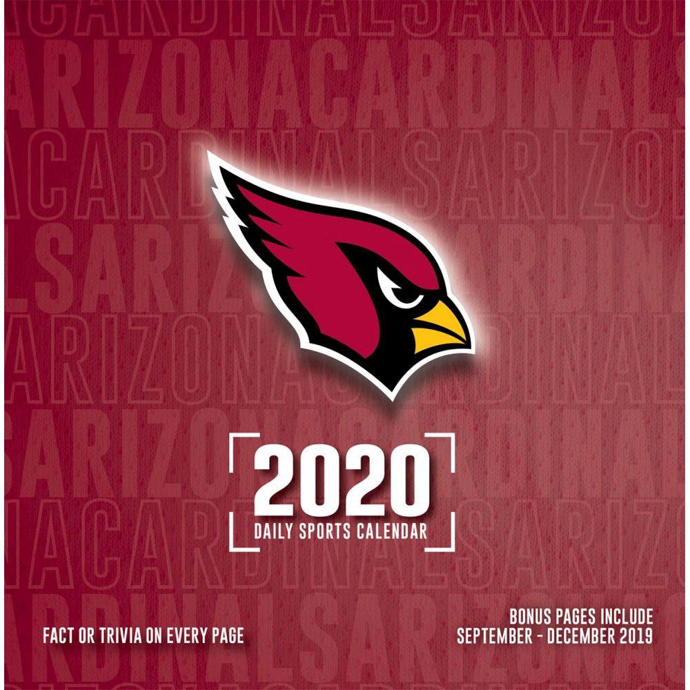 Arizona Cardinals 2021 Desk Calendar